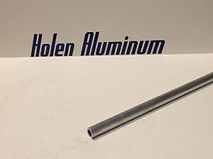 "1 1//2/"" Aluminum Round Tube 6061 T6511 .065/"" wall x 84/"""