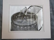HAMMS BEER PRODUCT AD PUBLICITY PHOTO SANKY TAP AND KEG STEP 1 PHOTO ORIGINAL