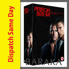 PRISON BREAK Complete Seasons 1,2,3,4 + Final Break DVD Box Set New & Sealed
