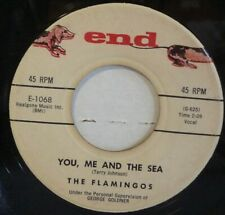 """THE FLAMINGOS """"NOBODY LOVES ME LIKE YOU"""" FROM 1960 END 45 RPM"""