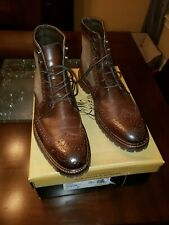 Johnston and Murphy Wingtip Boots
