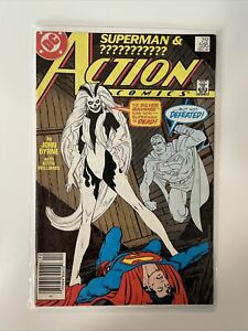 Action Comics #595 1st Appearance Silver Banshee Superman Byrne