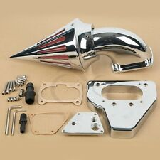 Chrome Spike Air Cleaner Kits Intake Filter For Honda VTX 1800 VTX1800 2002-2009