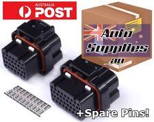 26 & 34 Pin ECU Connectors & Pins Set Haltech Elite ADAPTRONIC Vipec Link Wolf3D