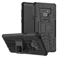 Für Samsung Galaxy Note 9 N960F Hybrid Case 2teilig Outdoor Schwarz Tasche Hülle