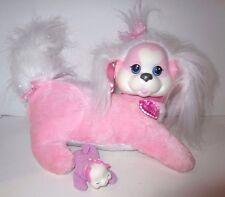 Puppy Surprise Pink/White Kiki Mom & Three Pups Plush Stuffed Animals