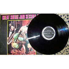 LP DISCHI 33 GIRI GREAT SWING JAM SESSION ORIGINAL JAZZ VINILE DISK VINYL ORIGIN