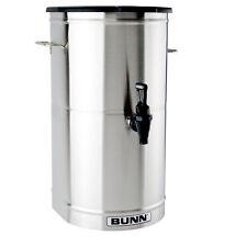 Bunn TDO-5-0001 Iced Tea Dispenser 5 Gallon Urn w/ Solid Plastic Lid