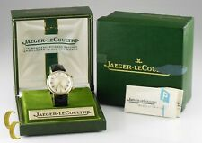 Jaeger- LeCoultre Vintage Hand-Winding Alarm Watch W/ Original Box and Case