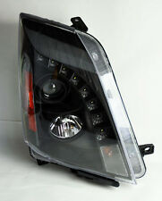 Cadillac CTS 08-13 Projector LED DRL Headlights Black PAIR RH LH
