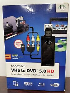 NEW Honestech VHS to DVD 5.0 HD Powerful Effortless Video Conversion Solution