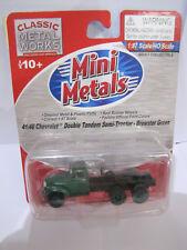 Classic Metal Works Mini Metals 41/46 Chevrolet Double Tandem Semi-Tractor  1:87