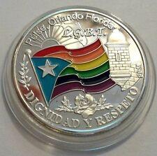 In Loving Memory PULSE ORLANDO FLORIDA 2016 Peseta JULIA de BURGOS Puerto Rico