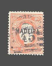 VINTAGE:MADIERA-PORTUGAL 1868 USD BH  SCOTT 12  $140 LOT #1868X230