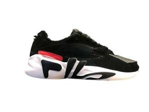 Shoes Fila Urban Mindblower Woman Sneakers Black White Logo Vintage 90's Heritag