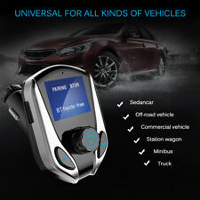 Universal Bluetooth Car FM Transmitter MP3 Player Dual USB Wireless Car Charger