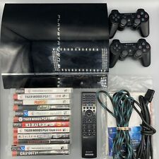 Sony PS3 Backwards Compatible Model CECHA01 - Tested w/ Games + Controllers