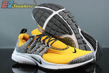 NIKE AIR PRESTO QS SAFARI PACK UNIVERSITY GOLD BLACK 886043-700 NEW SIZE: 12