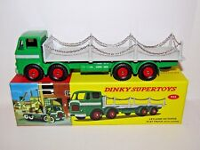 ATLAS DINKY SUPERTOYS LEYLAND OCTOPUS FLAT TRUCK WITH CHAINS 935 NON CERT