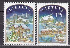 LITHUANIA  2003 **MNH SC# 754 - 755 Christmas stamps