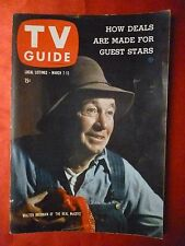 Oregon March 7 TV GUIDE 1959 REAL McCOYS Walter Brennan Harpo Chico Marx LUCY