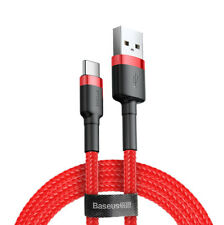 3m 2A Baseus Cafule Cable - USB to USB-C Connect und Charge Cable Ladekabel