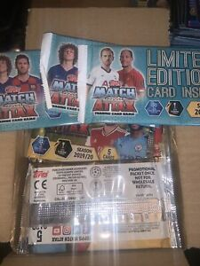 Match Attax 2019/20-90 Packs Of 5 Cards Plus 3 Limited Edition Pack