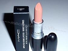 NIB MAC Lipstick ~ A PERFECT DAY ~Nude Amplified Creme ~Naturally LE ~ RARE