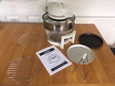 Halogen Oven 17 Litre Hinged Lid + Accessories