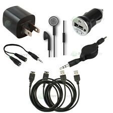 7 pc Kit 2 USB Cable+Car+Wall Charger for Nintendo DS NDS Gameboy Advance GBA SP