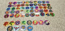 Full set  of 50 Monster Caps/pogs By The Fun Group +12 misprints ULTRA RARE 1995