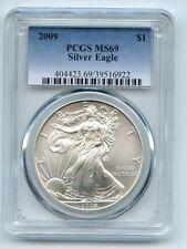 2009 $1 American Silver Eagle Dollar 1oz PCGS MS69