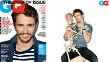 GQ USA,James FRANCO,Martin Schoeller,Bill Hader,Chris O'Dowd,Will Arnett,Gervais