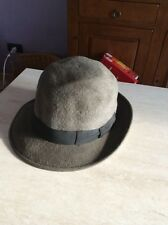 Rarissimo cappello borsalino in feltro grand prix paris 1900 Tg 5-1/2 vintage