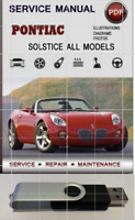 2006-2009 Pontiac Solstice + Saturn Sky OEM GM Service Repair Shop Manual on USB