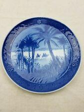 Vintage 1972 Royal Copenhagen Plate - In The Desert Denmark