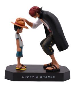 Collection One Piece Figurine Luffy et Shanks / Décoration dessin animé manga