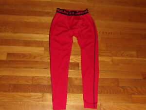 UNDER ARMOUR RED COMPRESSION TIGHTS BOYS YOUTH MEDIUM EXCELLENT CONDITION