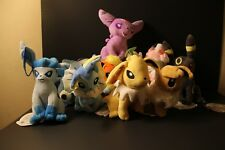 10 Pcs High Quality Pokemon  Plush Toys, Umbreon, Flareon, Vaporeon, Evee, more