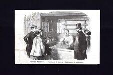 I soffiatori di vetro e i fabbricatori di termometri Incisione del 1870