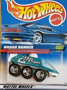 Hot Wheels 1999 Radar Ranger #1101 Green/White