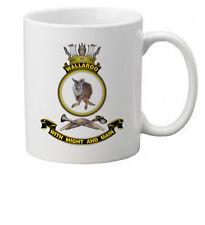 HMAS WALLAROO ROYAL AUSTRALIAN NAVY COFFEE MUG (IMAGE BLURED TO STOP WEB THEFT)