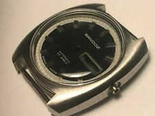 NEW OLD STOCK SANDOZ TROPICALIZED SWISS MADE WATCH CASE FOR MEN'S DAY/DATE DIVER