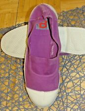 New In original Packaging Bensimon Shoes  Canvas Shoes  Color Purple