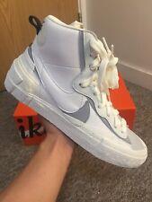 Nike Sacai Blazer Mid White Grey UK9   US10   EU44
