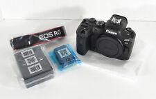 Canon EOS R6 20.1MP Camera Body- U.S. VERSION- GREAT CAMERA- NEW- FAST SHIP