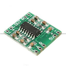 2PCS 2 Channels 3W Digital power PAM8403 Class D Audio Amplifier Board USB DC 5V