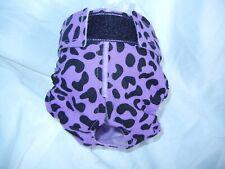 Female Dog Puppy Pet Diaper Washable Pants Sanitary Underwear PURPLE Animal XXS
