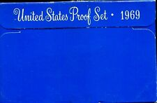 1969-S US Proof Mint Set 5 Coins Silver & CLAD 20hoo0801 $2 Shipping