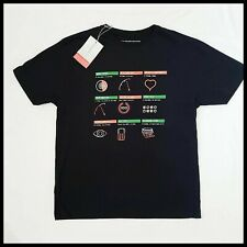 McLaren Mercedes F1 Graphic Print T-Shirt | Medium | Black | BNWT